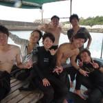 今日のナッツは大賑わい☆   瀬底島FUNダイビング   ダイブナッツブログ