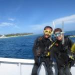 いい流れの水納島☆ 水納島FUNダイビング 体験ダイビング  ダイブナッツブログ