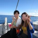 初めてのダイビング☆水納島編!   ダイブナッツブログ