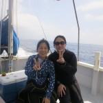 午後から水納島へGO!&ナツ子再び!   ダイブナッツブログ