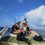 チームツブツブ!水納島へ  ダイブナッツブログ