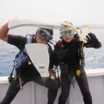水納島で群れまくる魚達と私たち   ダイブナッツブログ