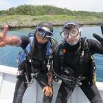 ナイススギル水納島の透明度と今一押しのあそこ!   ダイブナッツブログ