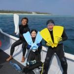 水納島 みんな笑顔の 水納島    ダイブナッツブログ