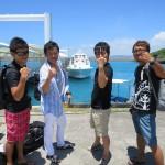 久高島から帰ってきました!!   ダイブナッツブログ