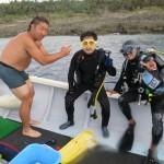瀬底島ディープ講習&ジョーフィッシュ巡り&サンセットボート&ボートナイトダイビングの巻!   ダイブナッツブログ