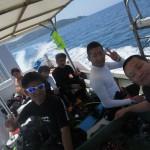 2016年6月3日~6日  久米島ダイビングツアー開催いたしました☆    ダイブナッツブログ