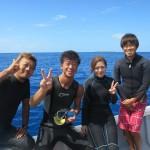 やっと久し振りの水納島へ!   ダイブナッツブログ