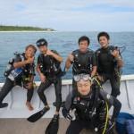 漢達の 漢達による 漢達の為の水納島ダイビング!!   ダイブナッツブログ