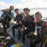 水納島ダイビングしまくりな1日☆亀とハタンポと時々グルクン  ダイブナッツブログ