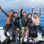 ビーチでオープンウォーター講習!&ボートで水納島ダイビング☆  ダイブナッツブログ