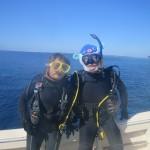 貸切状態の水納島と瀬底島でダイビングしまくりな1日With タカトモさん&ヒロミさん☆  ダイブナッツブログ