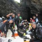 水中鍾乳洞や二神岩や、基本神秘的系な辺戸FUNダイビング!   ダイブナッツブログ