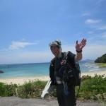 ダンディカツヨシ兄さんとビーチFUNダイビング!     ダイブナッツブログ