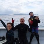9月1日目はホームグラウンド本部ボートダイビング☆   ダイブナッツブログ