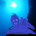 万座でディープ講習☆カマストガリザメのGETだぜ!写真は無いけどね!   ダイブナッツブログ