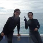 台風前最後の水納島!?   ダイブナッツブログ