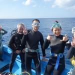 ベテランダイバーさん達と本部の海でまったりファンダイビング☆  ダイブナッツブログ