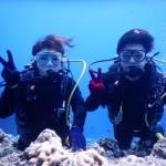 体験ダイビングでも地形&珊瑚をたっぷり楽しめる瀬底ラビリンス☆  ダイブナッツブログ