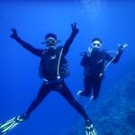 瀬底島の地形は青かった・・・   ダイブナッツブログ