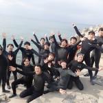 ヤングな体験ダイバーチームとちょい悪系伊豆ダイバー☆   ダイブナッツブログ