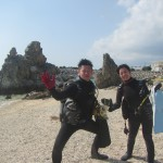 3月でもう海に入りたくなりました。   ダイブナッツブログ