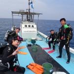 オープン認定!そして水納島FUN☆そして伊江島へ!   ダイブナッツブログ