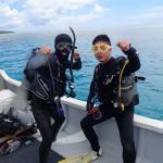 マンツーマンでまったり水納島&ナイトダイビング☆  ダイブナッツブログ