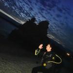 地元の道産子仲間とナイトダイビング!     ダイブナッツブログ