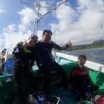 台風近くても東風に強い穏やか辺戸岬☆    ダイブナッツブログ
