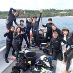 本日は瀬底島でFUNダイビング&オープン講習! ダイブナッツブログ