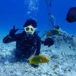 最高のコンディションの水納島で初体験ダイビング☆  ダイブナッツブログ