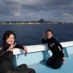 冬の時期でも伊江島ダイブ☆  ダイブナッツブログ