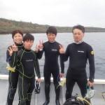 午後から瀬底島ダイビング♪ そして夕方からはサンセット&ナイトビーチFUNダイブ♪  ダイブナッツブログ