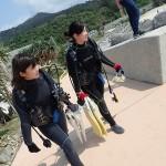夏のような日にビーチで体験ダイビング☆   ダイブナッツブログ