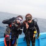 海荒れてる系!?と思いきや水納島と瀬底島行けました☆そしてナイトダイビングも!  ダイブナッツブログ