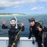 ご希望の水納島に滑り込みセーフ!   ダイブナッツブログ