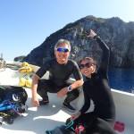 辺戸岬で水中鍾乳洞&大物探し! それにしてもベーグルうまっ!    ダイブナッツブログ