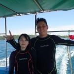 遠征!残波岬FUN☆そしてグローバルな体験ダイバー   ダイブナッツブログ