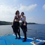 初めてのダイビングIN瀬底島&お久しぶりエモンズ   ダイブナッツブログ
