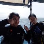 今日の海を経験すればあとはヘッチャラですよ!   ダイブナッツブログ