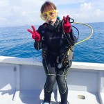 チョイ濁だけど面白い瀬底ダイブでした☆   ダイブナッツブログ