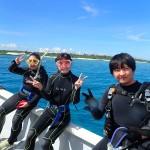 青いぞ!穏やかすぎるぞ!最高だぞ!水納島!   ダイブナッツブログ