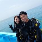仲良しカップルと落ち着きを取り戻した水納島へ♡   ダイブナッツブログ