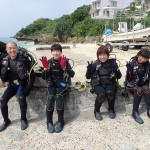 瀬底でまったりFUNとわいわい体験&シュノ―ケル   ダイブナッツブログ