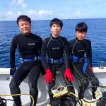 気持ちの良い体験ダイビングでした!  ダイブナッツブログ