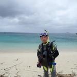 台風が隣にいても潜れるビーチがこの町にはあった!   ダイブナッツブログ