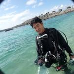 ふくらはぎ兄さんとビーチでまったりダイビング&TG6モニターテスト☆  ダイブナッツブログ