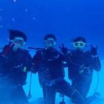 水納島と瀬底島で体験ダイバーさんとベテランダイバーさんとワイワイ潜ってきました!  ダイブナッツブログ